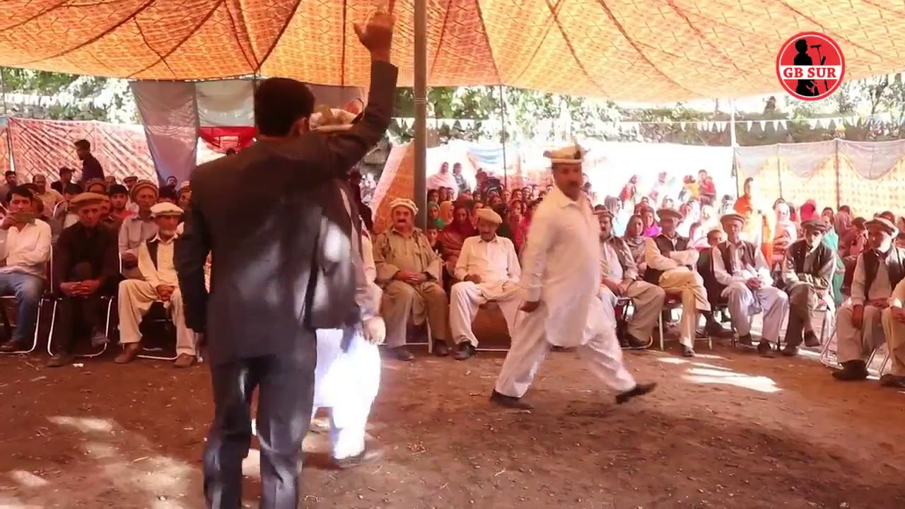 Member Legislative Assembly Mr  Fida Khan dance with his Elder Brother at Gupis Ghizer