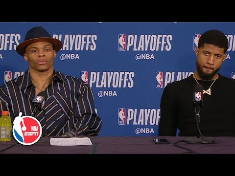 Russell Westbrook: The way I played was unacceptable' in Game 2