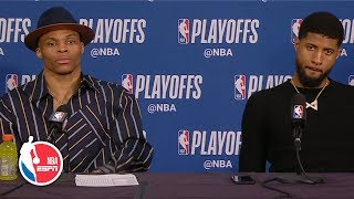 Russell Westbrook: 'The way I played was unacceptable' in Game 2 | 2019 NBA Playoffs