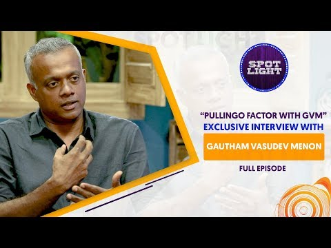 Spotlight | Exclusive Interview With Gautham Vasudev Menon | VJ Abhishek | Sun Music