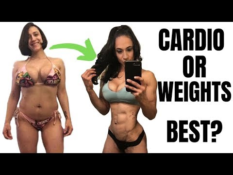 CARDIO VS WEIGHTS | Best For Weight Loss