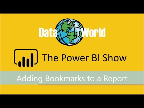 The Power BI Show - Episode 2: Adding Bookmarks to a Report