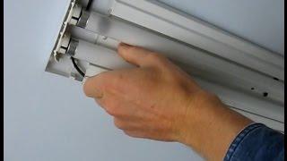 Як самому поміняти лампу денного світла