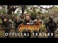 AVENGERS INFINITY WAR TRAILER # 1 4K HD 2018 Marvel Superhero Movie HD