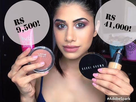 HIGH END vs DRUGSTORE Make-up | Malvika Sitlani