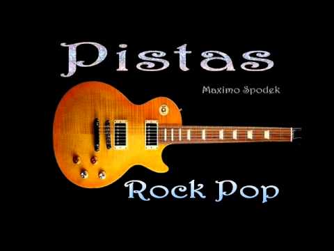 PISTA BASE DE ROCK POP EN C PARA IMPROVISAR