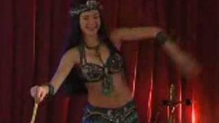 Эльвира Исыпова - танец с тростью