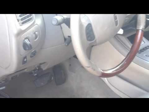 Removing The Dash In A 2002 Lincoln Navigator