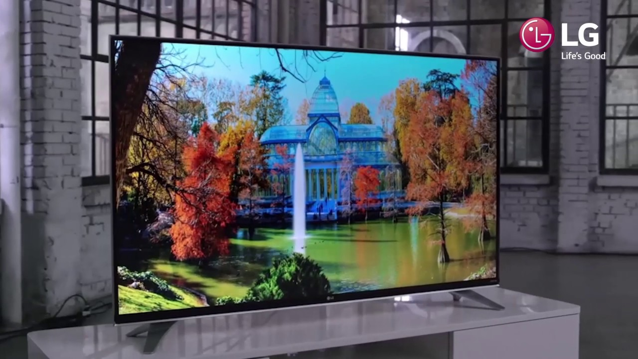 703ff25d6 Televize LG 49UH603V - YouTube