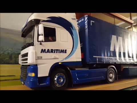 Italeri DAF XF 105 Maritime Model Kit with lighting