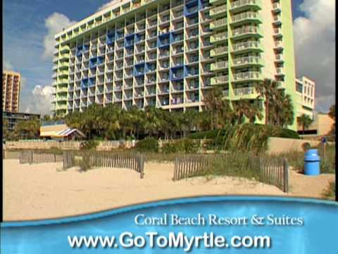 coral beach resort and suites myrtle beach youtube. Black Bedroom Furniture Sets. Home Design Ideas