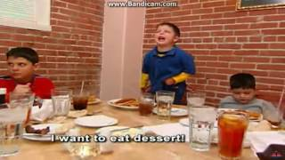 The Wiggles Fan est. 2000 throws a tantrum because he can't have dessert!