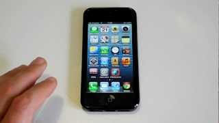 iPhone 5 - Hotspot einrichten - Persönlicher Hotspot
