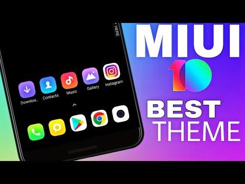 Best Dark Theme For MIUI 10Redmi Note 5 ProDark Mod