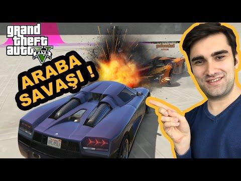 MUHTEŞEM ARABA SAVAŞI! GTA 5 Online Türkçe