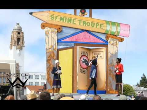 The San Francisco Mime Troupe - SCHOOLED (2016 Season Opening, Dolores Park, Excerpt 1)