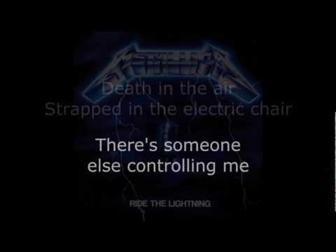 Metallica - Ride The Lightning Lyrics (HD)