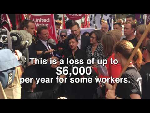 Erin's story. Save Our Weekend- Protect Penalty Rates