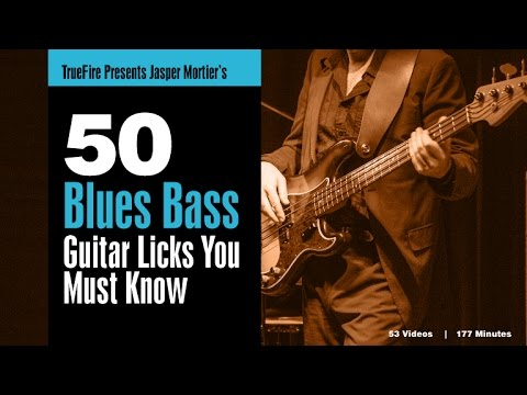 Blues bass lick