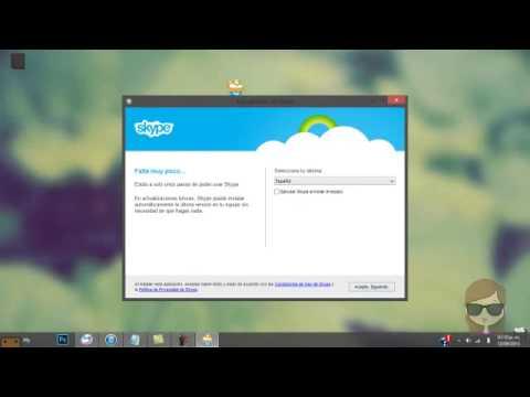 como descargar skype de escritorio para windows 8 youtube