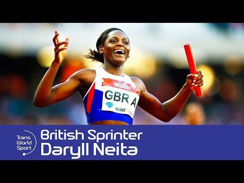 Daryll Neita | British Sprinter & Olympic Medallist | Trans World Sport