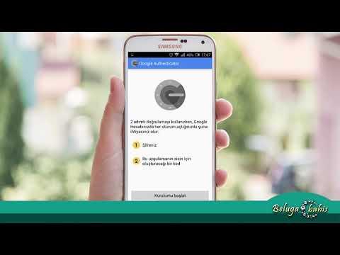 İki Aşamalı Güvenlik Google Authenticator Etkinleştirme
