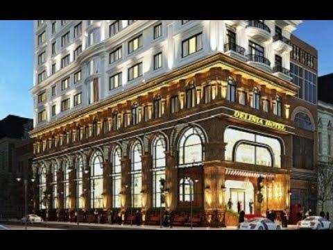 Thiết kế khách sạn cổ điển 15 tầng – Delinia Hotel tại Tp biển Nha Trang (4 sao)