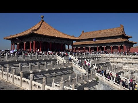 Forbidden City, Beijing, China in 4K (Ultra HD)