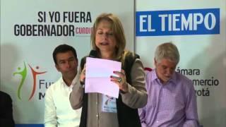 1er Debate Bogotá-Región