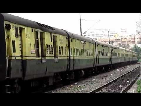 Pune Secunderabad Shatabdi on last leg of its journey.