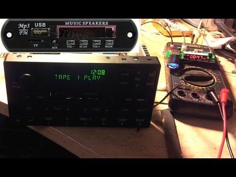MP3+BT+AUX итд в кассетную магнитолу по-человечески.