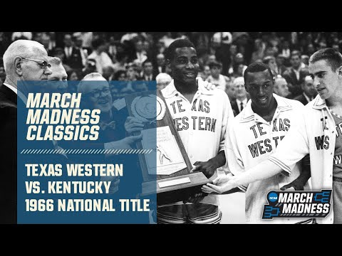Texas Western vs. Kentucky: 1966 National Championship | FULL GAME