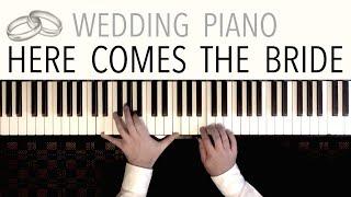 Here Comes The Bride (Bridal Chorus) | Wedding Entrance - Piano Version