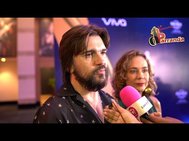 Juanes habla de su fundación Mi Sangre y su amistad con Juan Luis Guerra