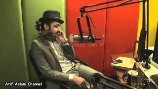 Atif Aslam plays Antakshari on Radio Spice 105.4 || www.aadeez.com