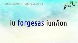 FORGESI verbo em Esperanto