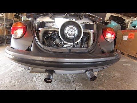 VW Beetle with 180hp Porsche Engine DRIVE & SOUND 1080p