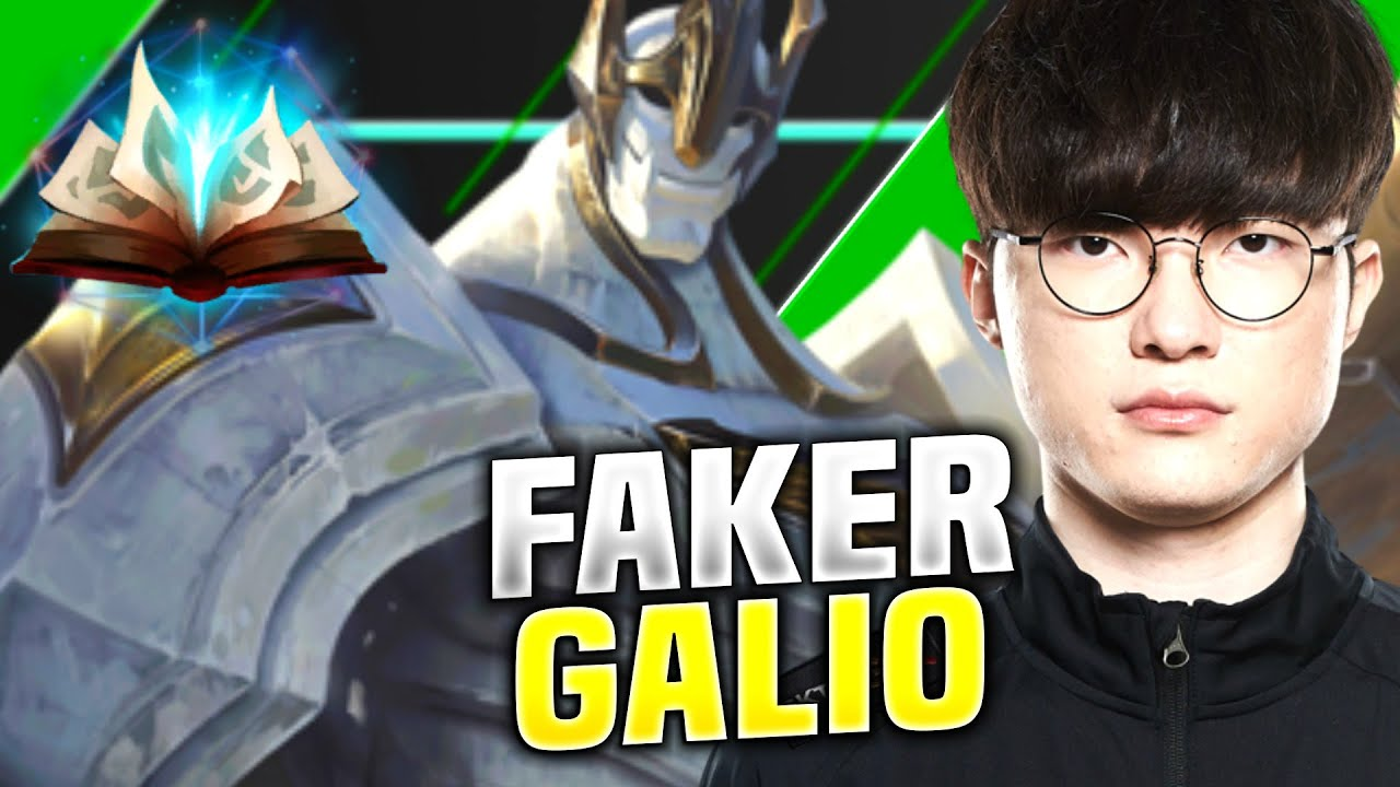 Faker Owns With Galio Mid! - T1 Faker Plays Galio vs Qiyana Mid! | KR Patch 10.15