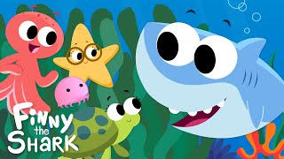 Down In The Deep Blue Sea | Kids Song | Finny The Shark