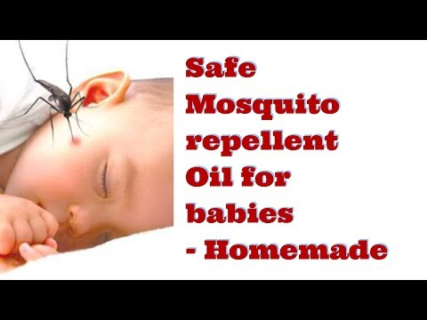 SAFE Mosquito Repellent Oil For BABIES And KIDS - Homemade