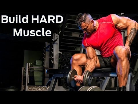 how to build hard muscle advanced strength workout