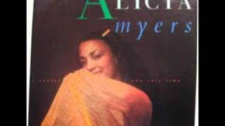 Watch Alicia Myers I Want To Thank You video
