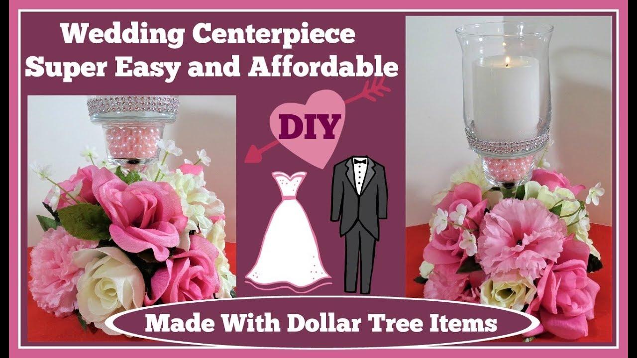 💍Wedding Centerpiece Dollar Tree DIY💍 - YouTube