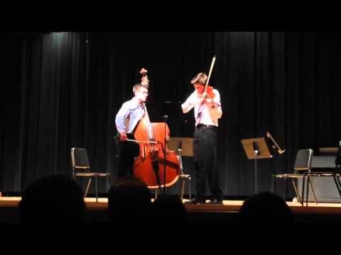 Thomas McCauley - Viola and Jesse Wisch - Bass - string duet