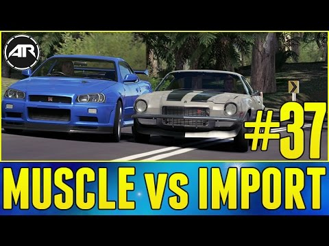 forza horizon 3 let 39 s play muscle vs import part 37. Black Bedroom Furniture Sets. Home Design Ideas