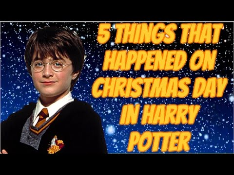 5 things that happened on christmas day in harry potter. Black Bedroom Furniture Sets. Home Design Ideas