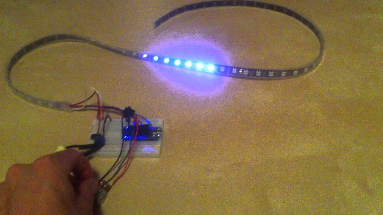 Led Strip Trail Effect Youtube Picture Of Rgb Circuit With Arduino