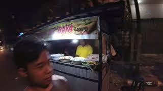 Indonesia Madura Street Food 3094 Part.4 Jalan kaki Nasi Sate Gole Jalan Niaga Pamekasan YN030324