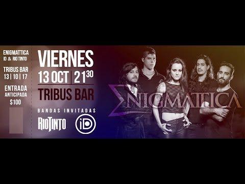 ENIGMATTICA en VIVO (Santa Fe) - Tribus Bar 13/10
