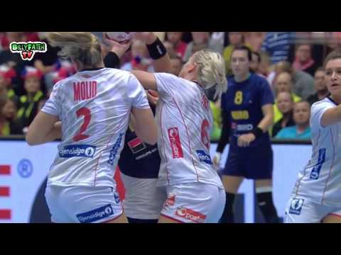 Norway VS Romania  Women's Handball World Championship Denmark 2015 semi-final